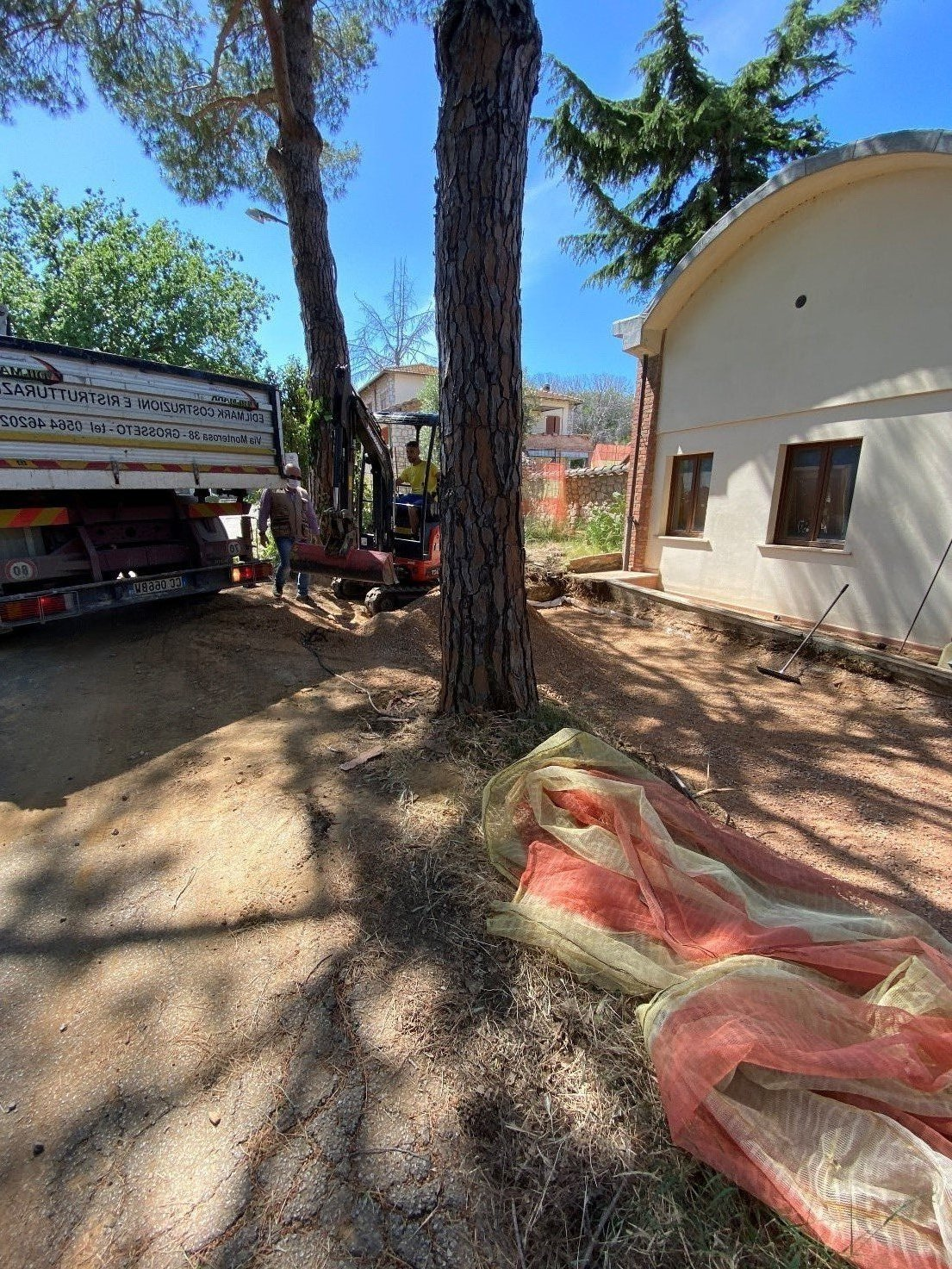 Fotogallery  dal cantiere