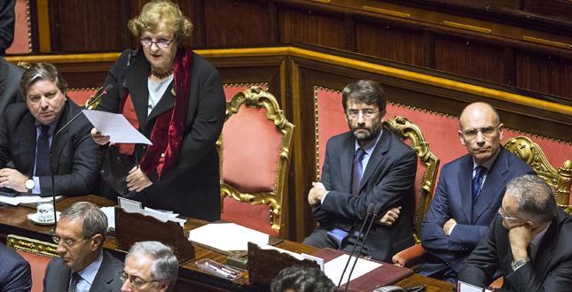 Senato - Informativa del ministro Cancellieri sul caso Ligresti